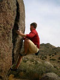 Bouldering at U-Mound