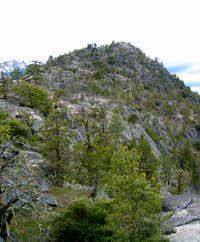 The East Ridge of LeConte...