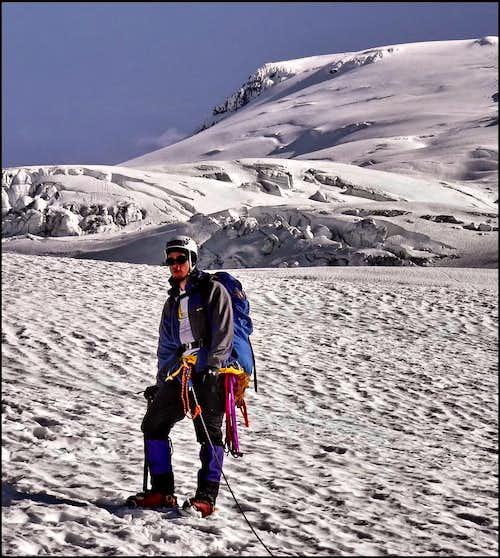 On the Easton Glacier