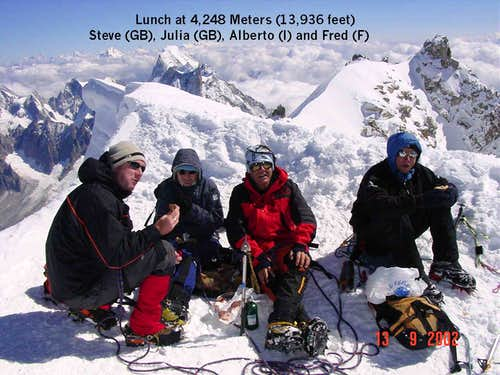 Lunch at teh summit