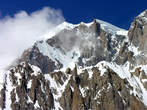 Views of Mont Blanc
