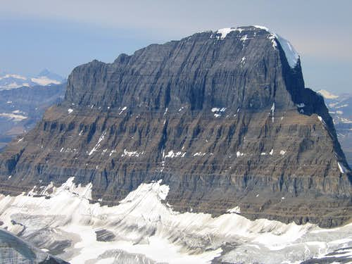 Mount Alberta from Woolley