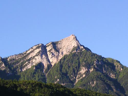 Pizzo di Levico from nord