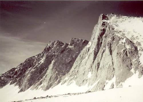 Mt. Tyndall as seen before...
