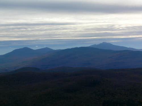 Whiteface (l) and Mansfield (r)