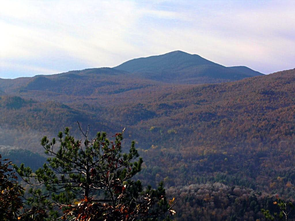 Whiteface in the autumn morning