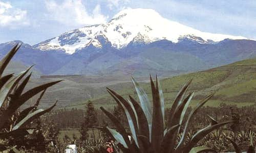 Cayambe 18,996 feet. Scanned...