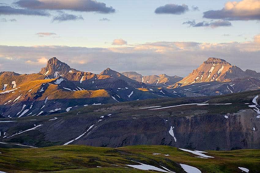 Wetterhorn Peak and Uncompahgre Peak