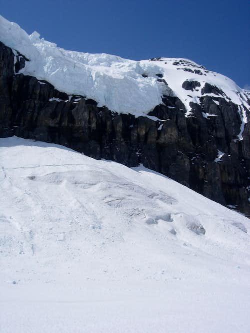 Snow Dome Headwall