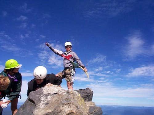Mt. Thielsen Summit