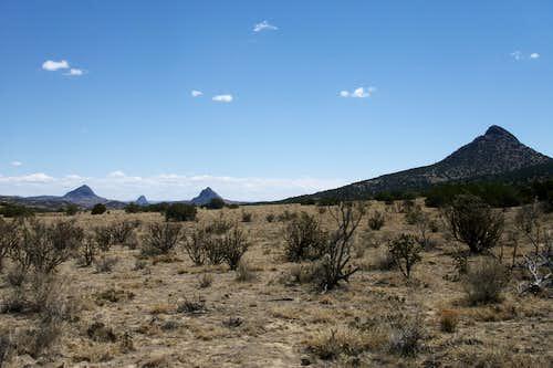 Cerro Vacio and Two Sisters
