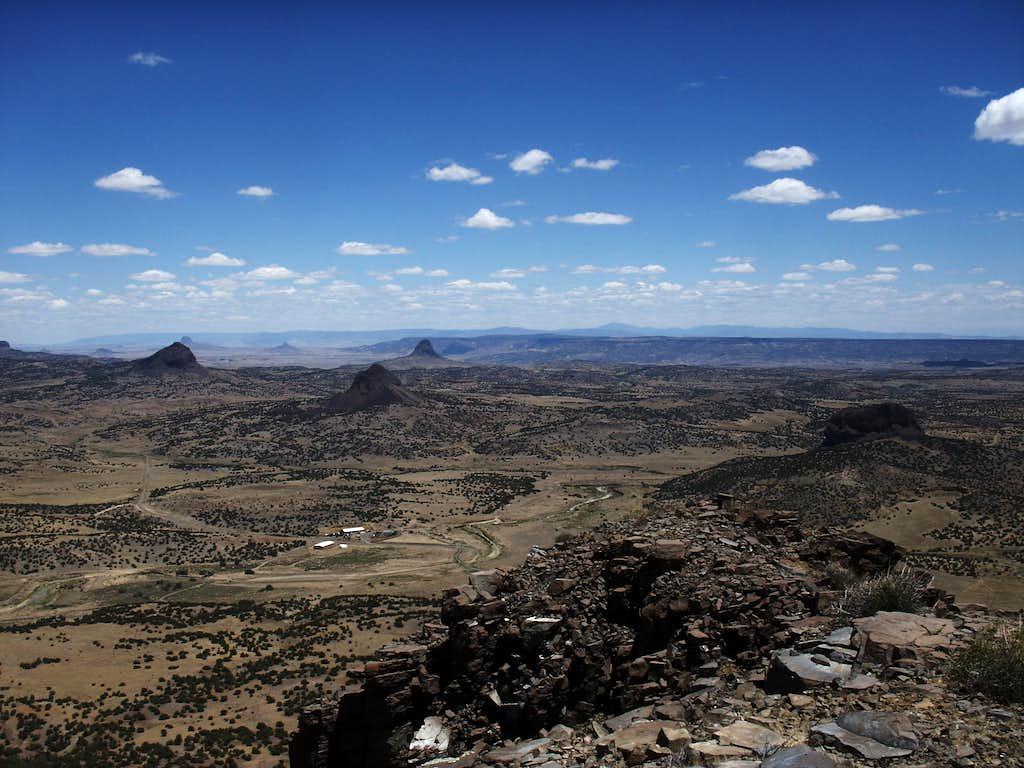 Los Cerros del Rio Puerco
