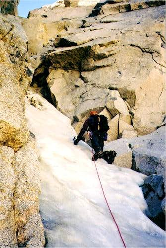 Moynier Couloir of Mt. Thompson