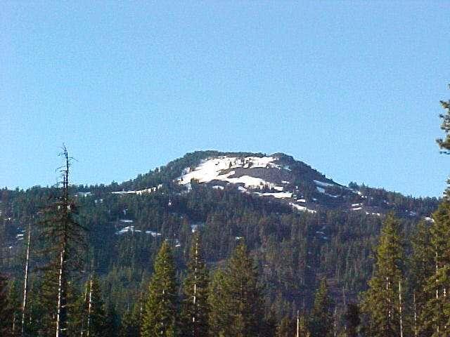 Brown Mountain, southern Oregon Cacades