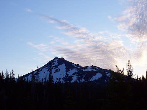 Broken top Mountain/Oregon cascades.