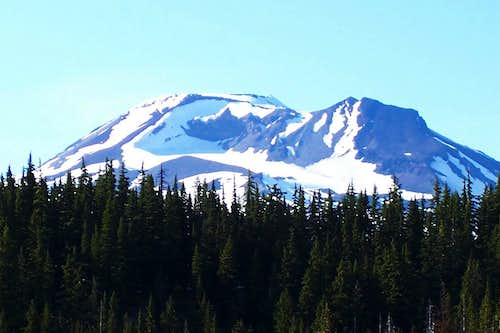 South sister Mountain/Oregon cascades.