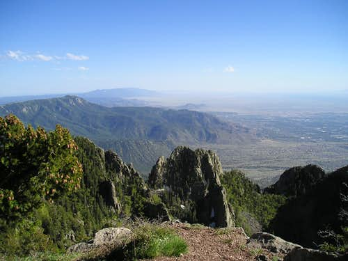 View of Albuquerque from Sandia Crest