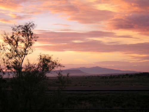 Mt. Taylor Sunset