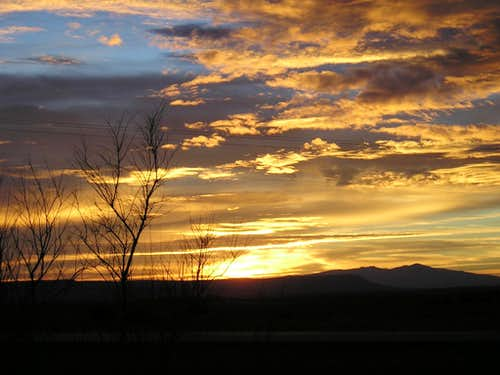 Mt. Taylor Sunrise