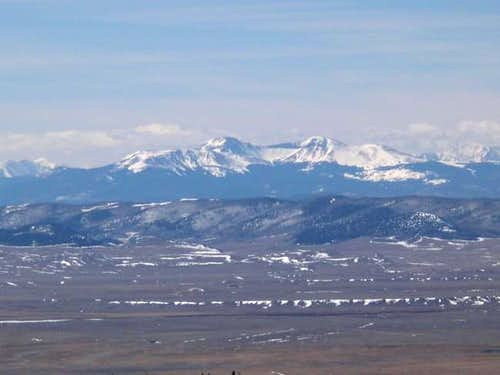 March 15, 2003. Buffalo Peaks...