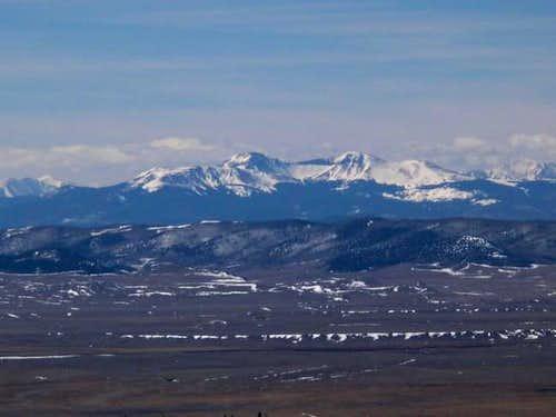 March 15, 2003. Buffalo Peaks...