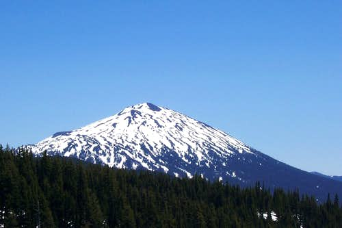 Mt bachelor/Oregon cascades.