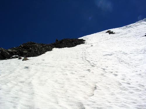 Leavitt, Upper Y Couloir