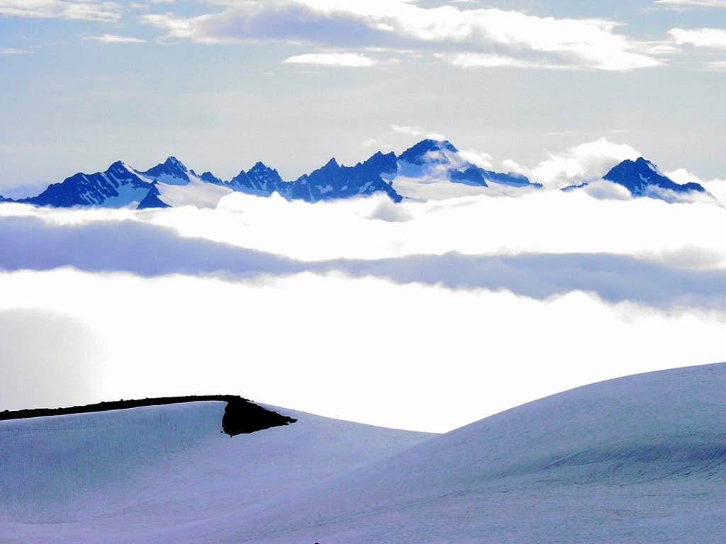 Sea of Clouds, Twin Sisters Range