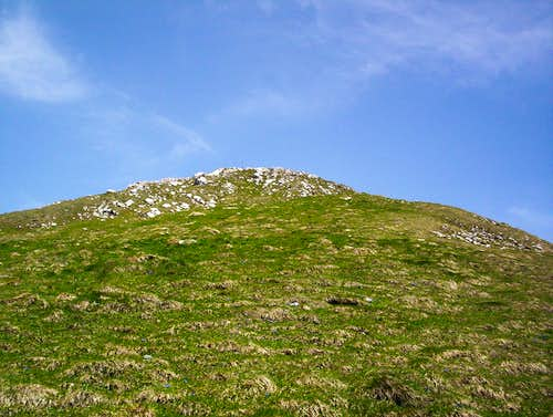 Final Slopes to the false summit.