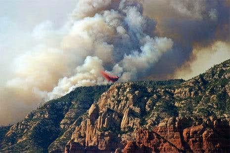 Sedona Fire 6-19-06