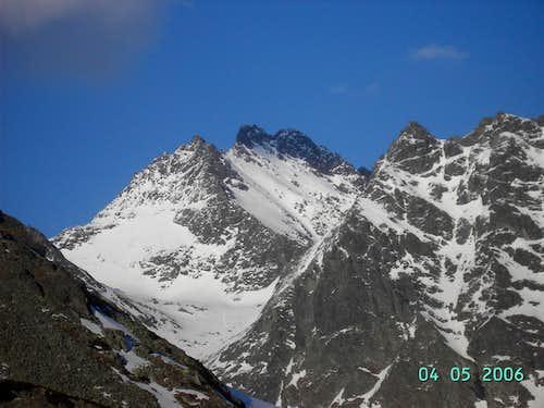 Wysoka from descent from Koprowa Pass
