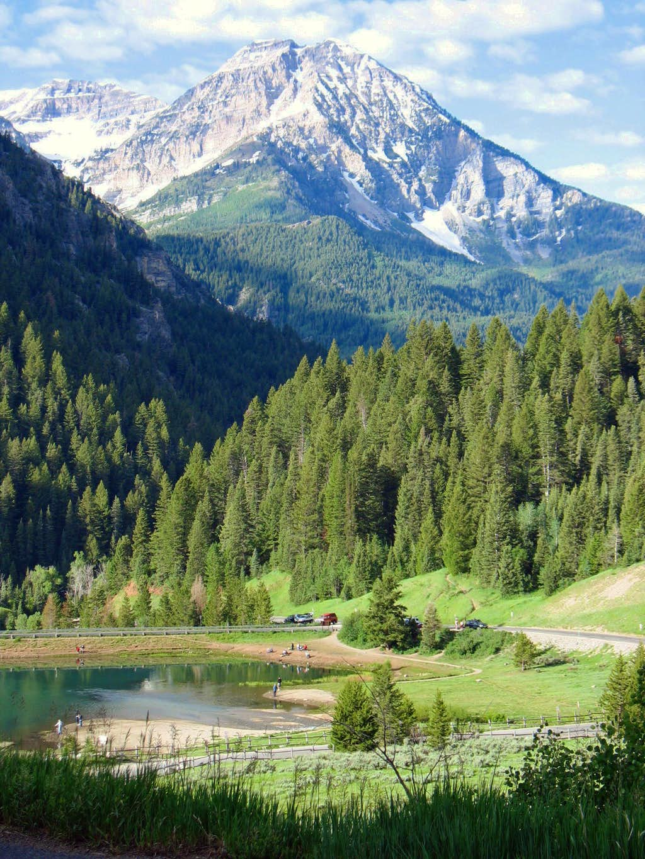 North Timpanogos above Tibble Fork Reservoir
