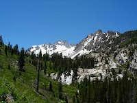 first glimpse of matterhorn peak