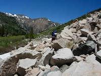 2nd boulder field