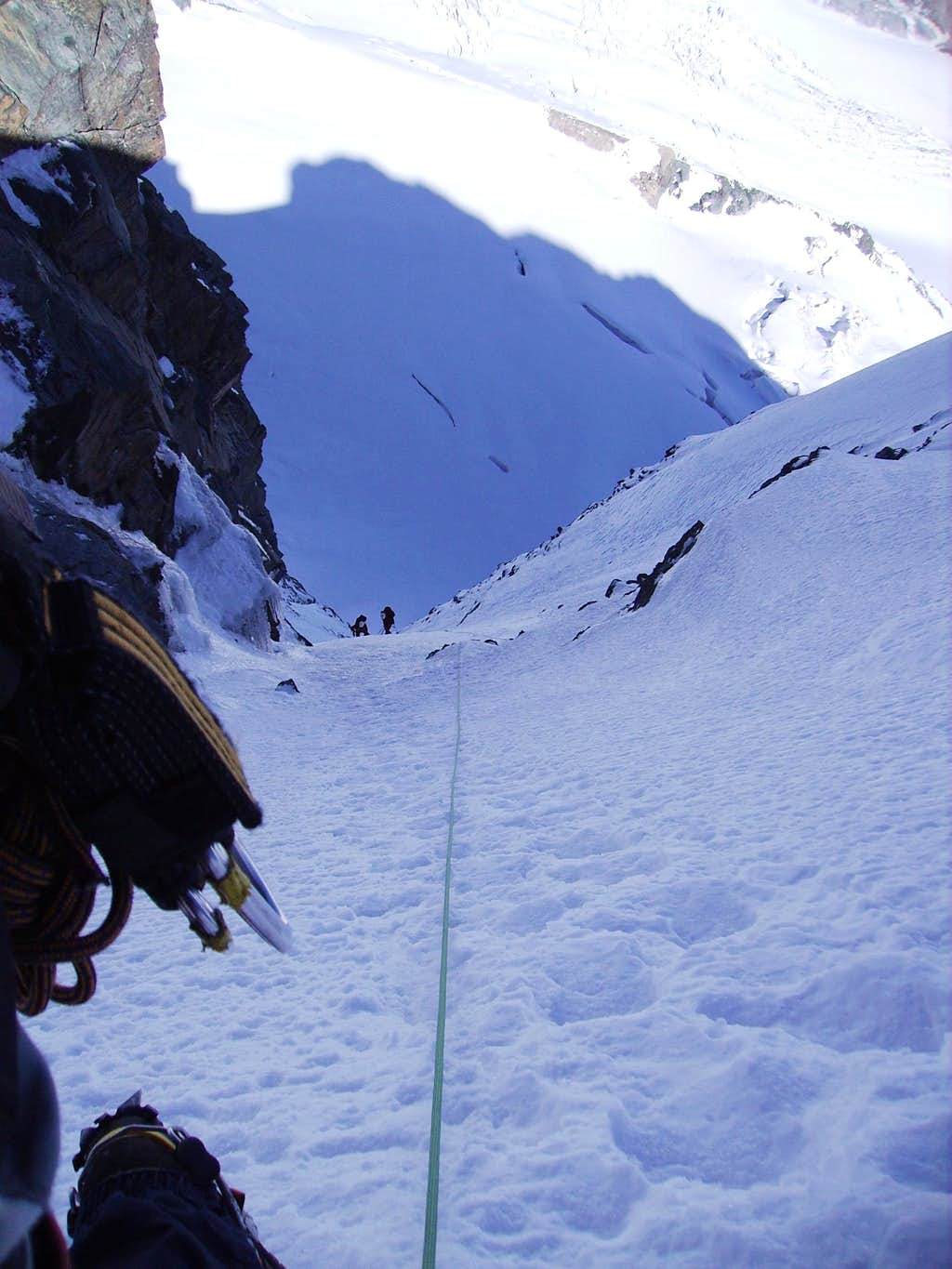 The last pitch in the Mayerlrampe