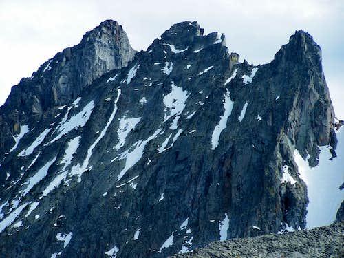 Pt. 10,437 (left) from NE