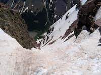 Bell Cord Couloir on South Maroon