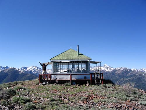 Wildhorse Peak Fire Lookout