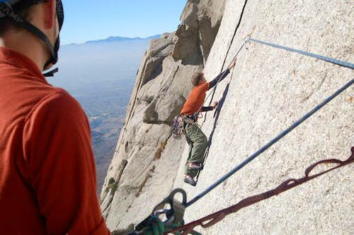 Second tension traverse