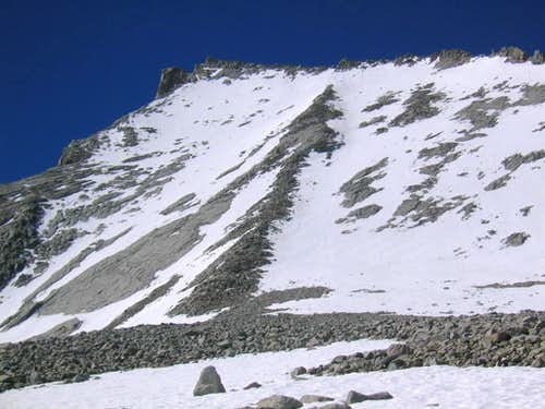 North Rib of Mt Tyndall