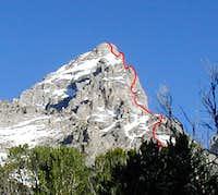 East Ridge as approaching...