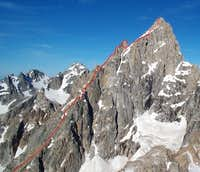 East Ridge of Grand from...