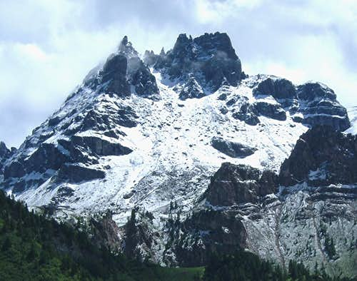 La Mèsola from the North