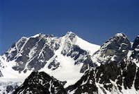Scerscen, Bernina and Cresta...