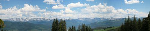Gore Range Panorama