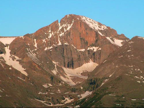 The East Face at sunrise