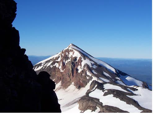 Middle sister,Oregon cascades.