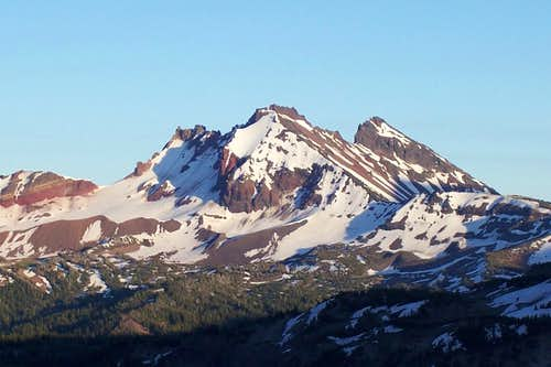 Broken top mountain,Oregon cascades.