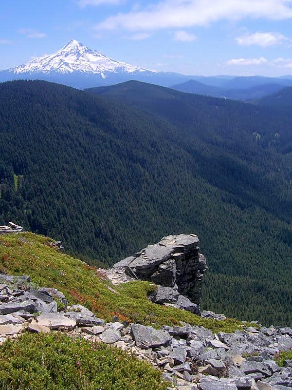 Mount Hood from Chinidere