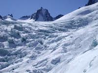 Ice fall, Vallee Blanche,...